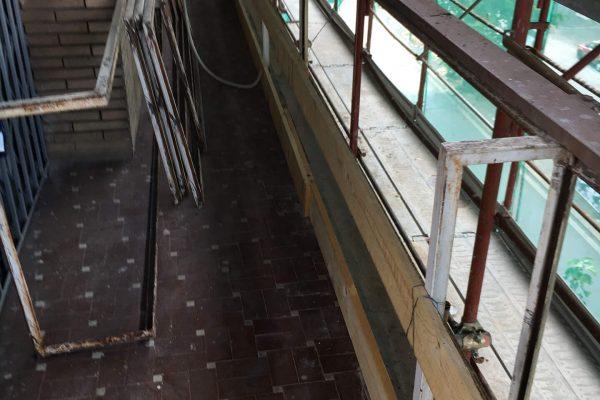 Messa in sicurezza balcone